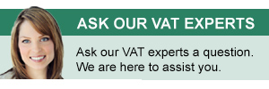 Ask our VAT Experts